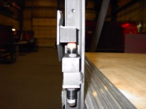 telescoping platform guards
